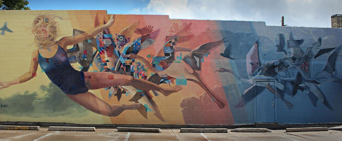 New Mural in Flagstaff!